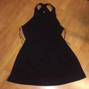 Forever 21 Backless Little Black Dress